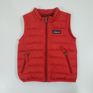 Patagonia Down Sweater Vest Kids Size 12M